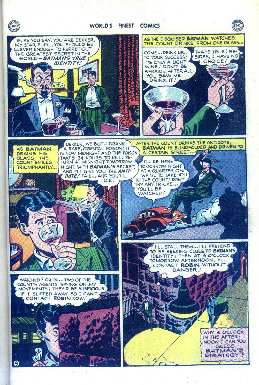 Read online World's Finest Comics comic -  Issue #43 - 69