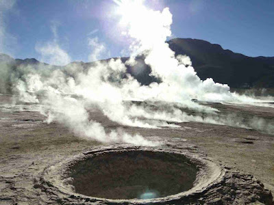 El Tatio Geysers, North of Chile.