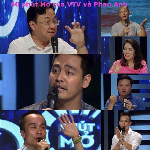 Hôm nay cộng đồng mạng dậy sóng với clip của chương trình 60 phút Mở của  VTV với biên tập viên Tạ Bích Loan và các khách mời, trong đó nổi bật ...