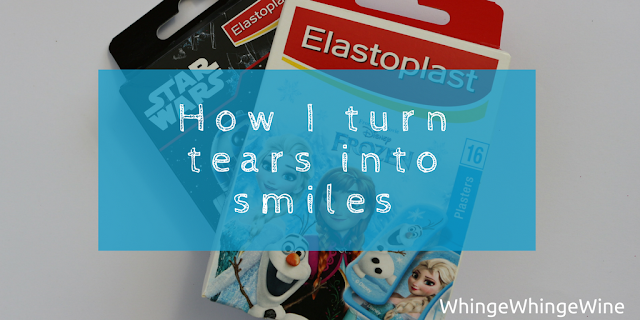 How I turn tears into smiles with Elastoplast