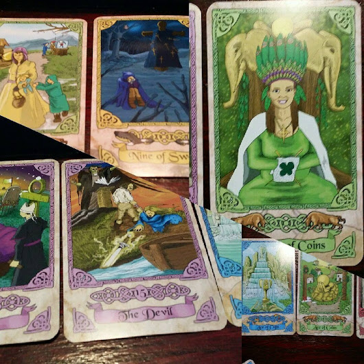 The King's Journey Tarot -- Bordered Edition - A review