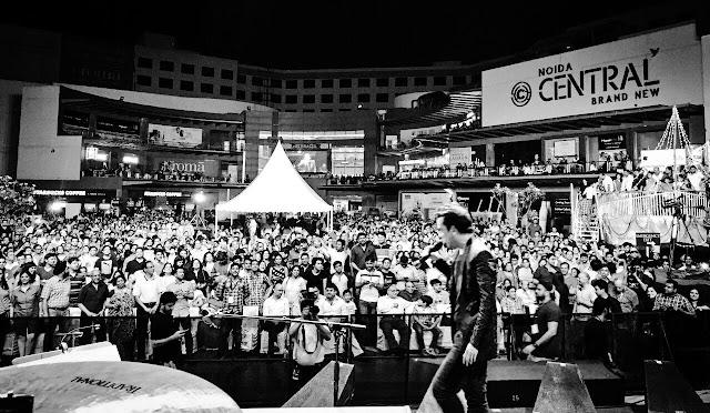 Noida Diary: Adnan Sami Live in Concert at Gardens Galleria, Noida