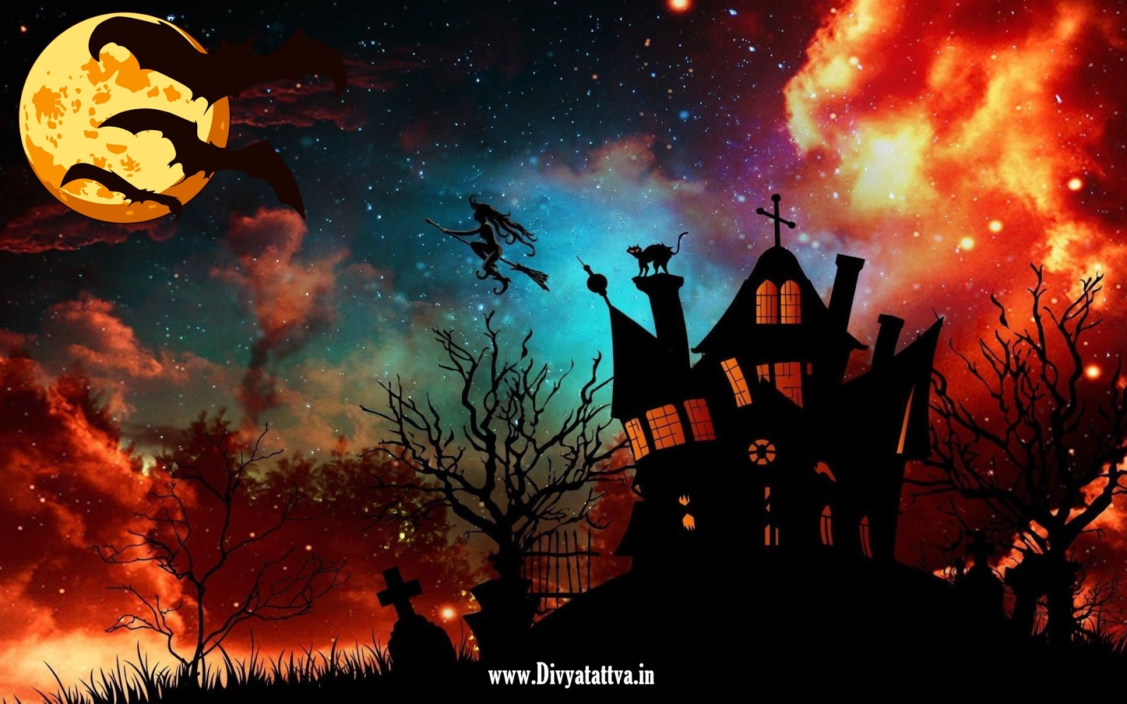 Divyatattva Astrology Free Horoscopes Psychic Tarot Yoga Tantra Occult Images Videos Halloween Hd Wallpaper Spooky Halloween Hd Desktop Wallpapers For 4k Ultra Hd Photos