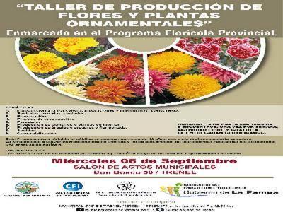 Trenel taller de producci n de flores y plantas for Produccion de plantas ornamentales