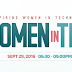 Women in Tech Event in Pasadena on Sept. 29