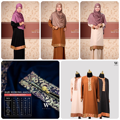 Varians Baju Kurung Amina