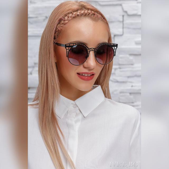 Γυναικεία μαύρα γυαλιά ηλίου SONITA