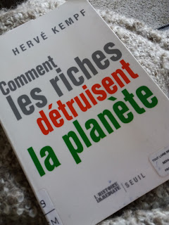 couverture Comment les riches détruisent la planète