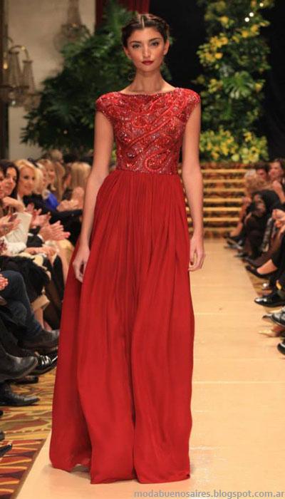 Moda argentina vestidos de fiesta