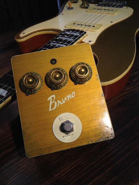 Bruno Drive ブラスパウダー塗装 ゴールドトップ