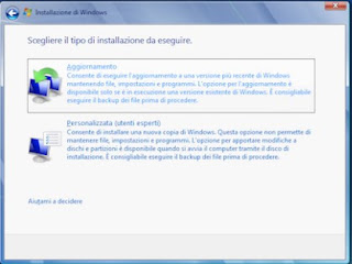 Reimposta Windows 7
