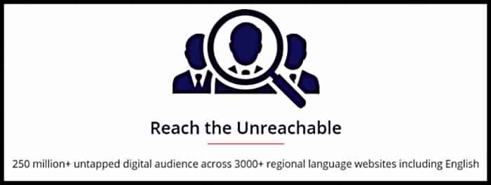 Adgebra Supports 10+ Indian Regional Languges