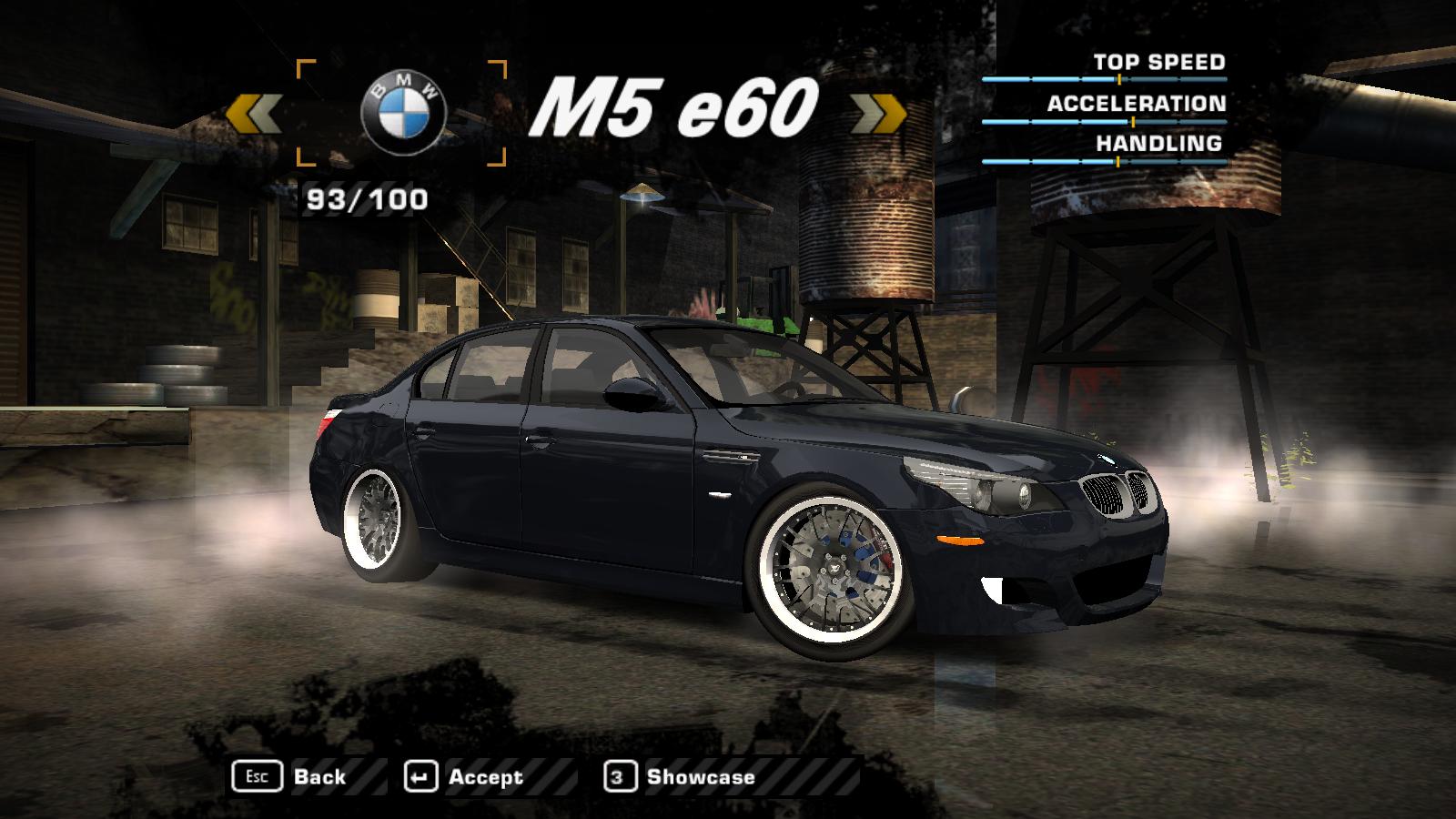 Porsche4ever Modding: BMW M5 e60