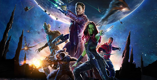 Guardians of the Galaxy 1 movie poster, the final easter egg