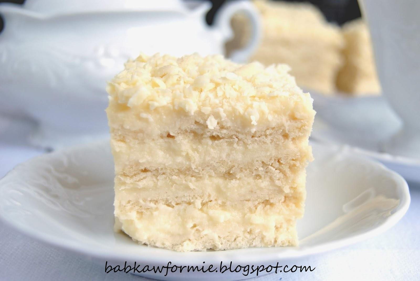 ciasto aniołek babkawformie.blogspot.com
