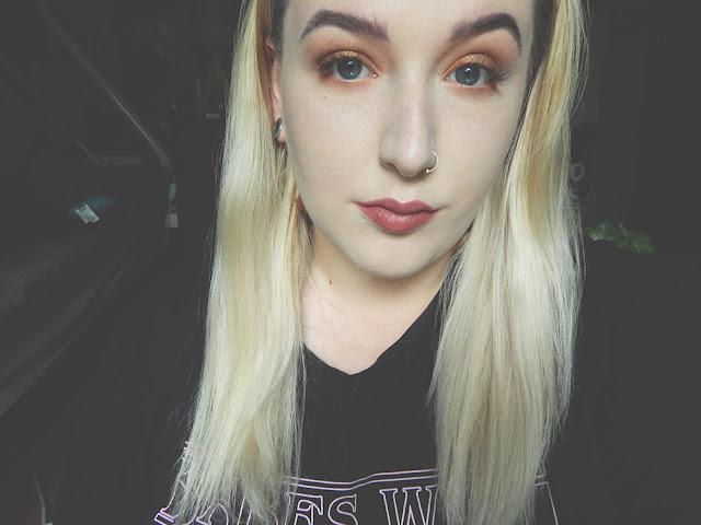 Simple Autumn Makeup 2017 || Blogtober