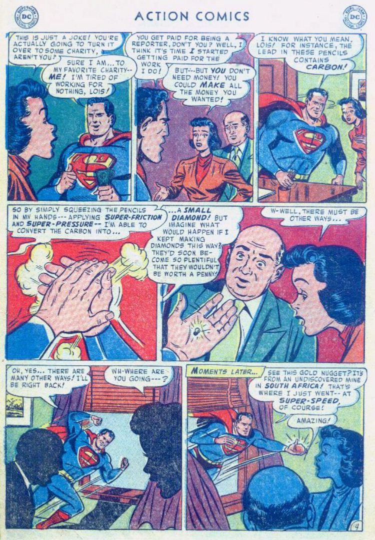 Read online Action Comics (1938) comic -  Issue #176 - 6