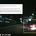 (Video) 'Dia Himpit Kereta Saya Sehingga Hampir Terlanggar Penghadang Jalan'