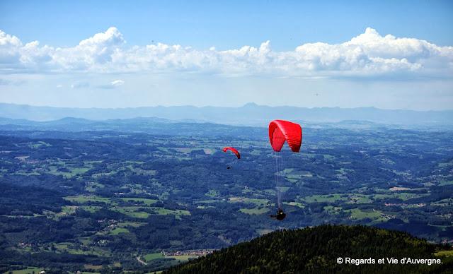 Vol libre à Job Auvergne