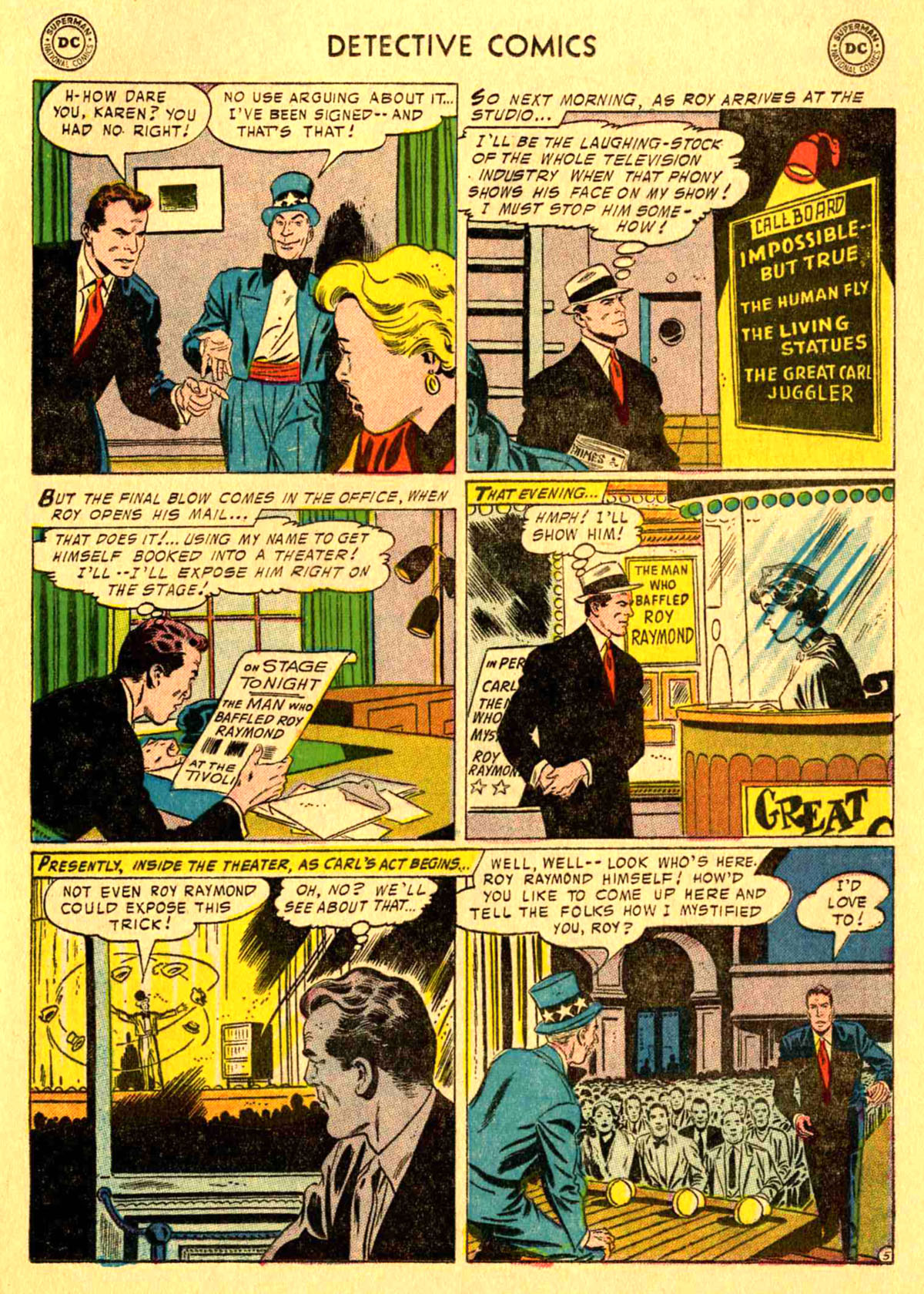 Read online Detective Comics (1937) comic -  Issue #233 - 21