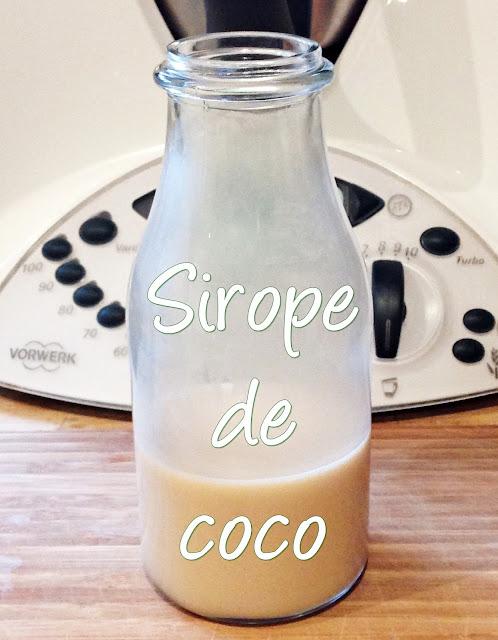 SIROPE DE COCO PASO A PASO CON THERMOMIX