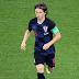 احصائيات ''' قائد كرواتيا Luka Modric  الأكثر قطعا للعشب الأخضر في كأس العالم