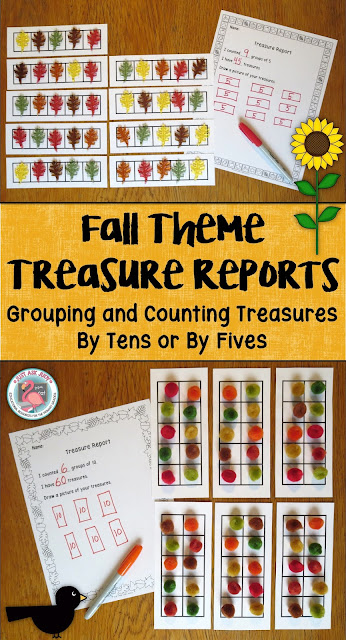 This FREE counting and grouping activity for kindergarten and first grade may be completed with the whole class (typically with partners), a small group, or as an independent station.