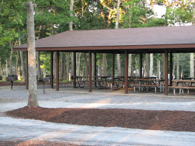 Johnny Kelley Recreation Area Picnic Pavilion