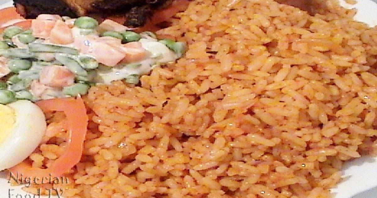 Jollof Rice : How to Cook Nigerian Jollof Rice (a.k.a ...
