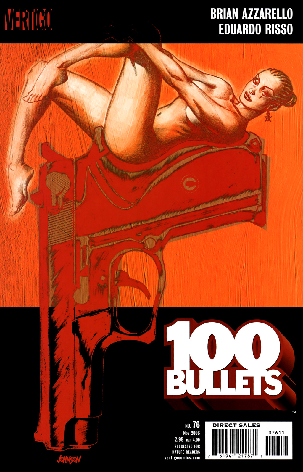 Read online 100 Bullets comic -  Issue #76 - 1