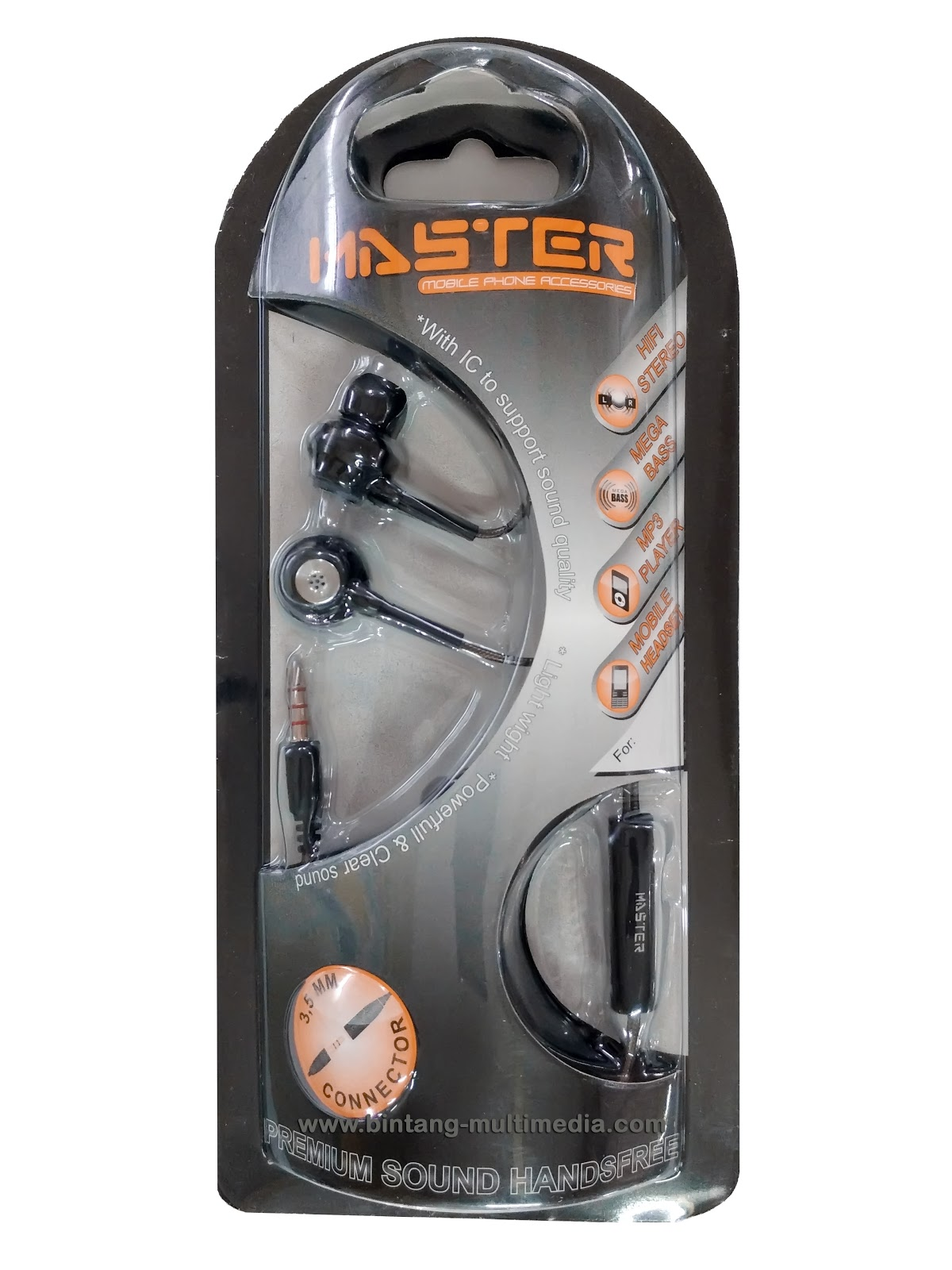 Earphone MASTER One For All