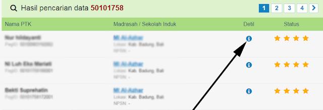 Cara Cek Detail Data Ptk Madrasah Simpatika Tahun 2016 Kemenag Blog Om Jhon