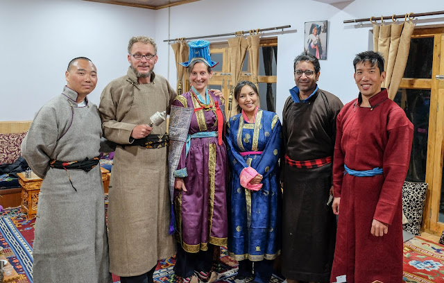 Traditional Ladakhi attire