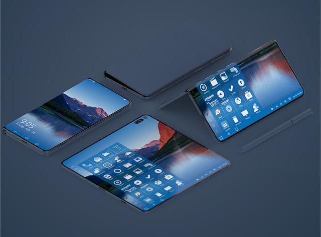 Smartphone Layar Lipat Microsoft