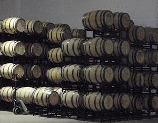 New oak barrels