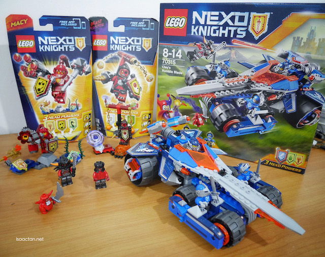 My LEGO NEXUS Knights building sets
