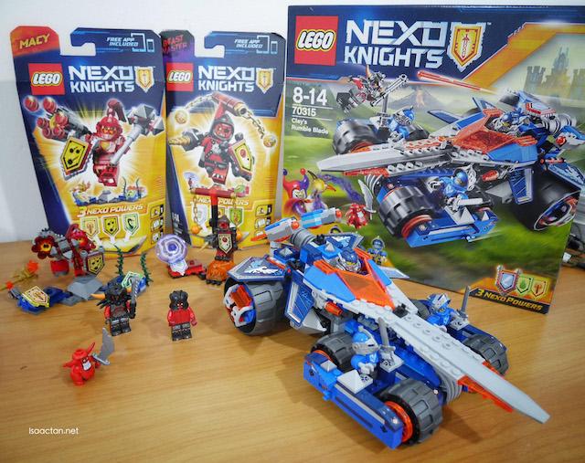 My LEGO NEXUS Knights building sets