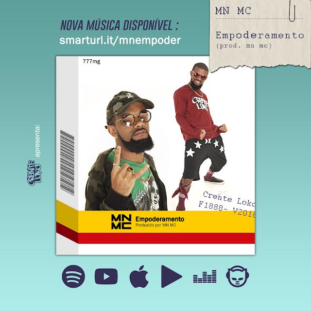 """MN MC lança """"Empoderamento"""" e discute apropriação cultural do Rap brasileiro"""