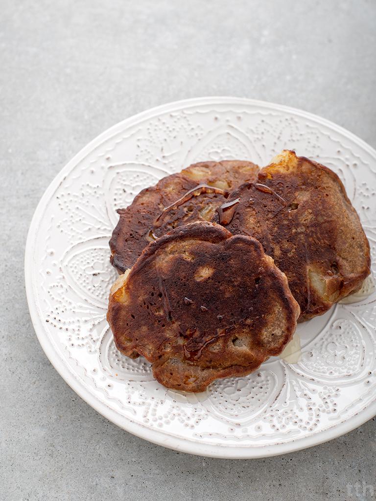 Drożdżowe placki kasztanowe gruszka wegańskie bezglutenowe bez cukru roślinny blog kulinarny