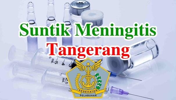 Alamat Tempat Suntik Vaksin Meningitis di Tangerang
