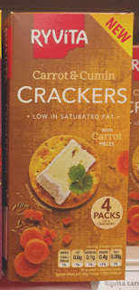 Ryvita Crackers Carrot & Cumin