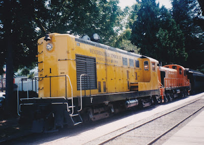 Weyerhaeuser Timber Company H12-44 #1 in Snoqualmie, Washington, in August 1998