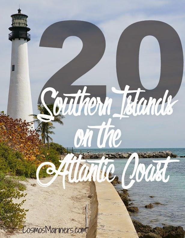 20 Southern Islands on the Atlantic Coast | CosmosMariners.com