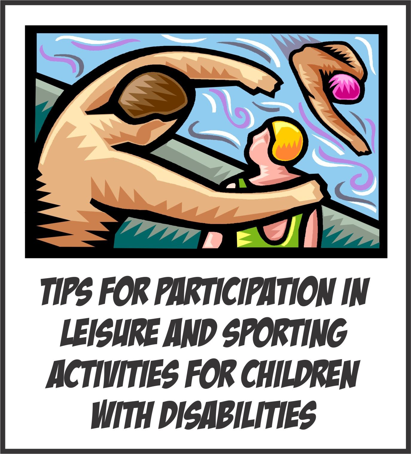 Participation In Leisure And Sporting Activities For