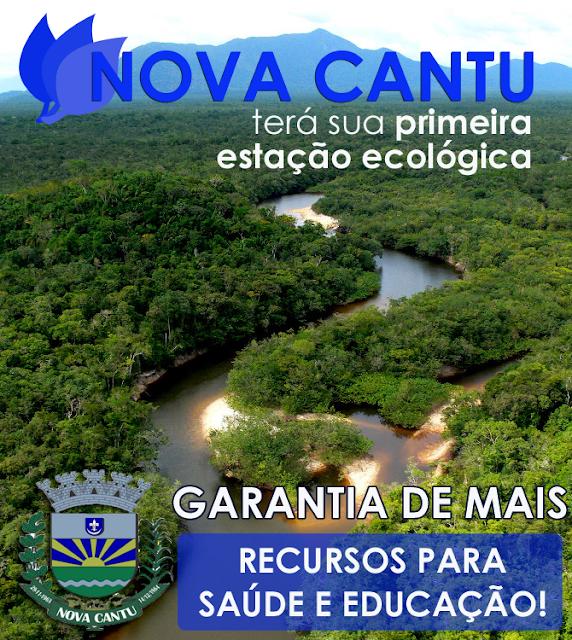 Nova Cantu terá Estação Ecológica...