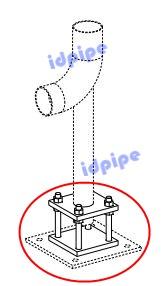 Adjustable Support Pompa