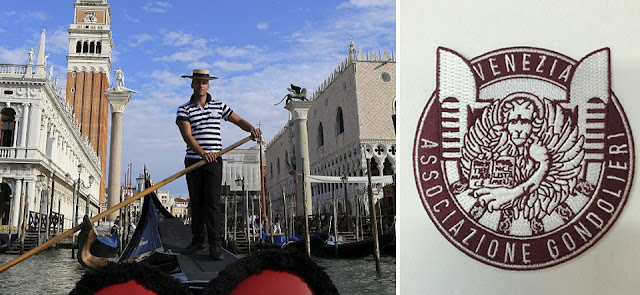 The gondoliers of Venice get their own logo
