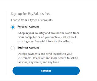 انشاء حساب باي بال مفعل مجانا
