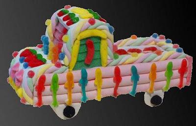 Pastel de Cuches Camion ref. 11 esdiver.com