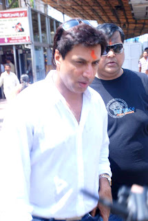 Producer Madhur Bhandarkar visits Siddhivinayak Temple after he gets relief in rape case
